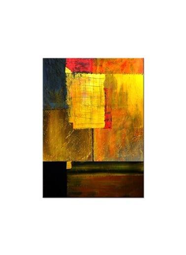 Arte Casero Soyut Kanvas Tablo 60x90 cm Renkli